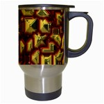 Metalart 23 Red Yellow Travel Mugs (White) Right