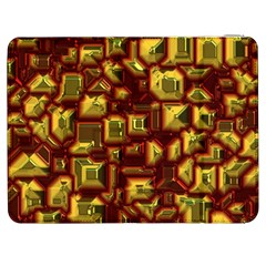 Metalart 23 Red Yellow Samsung Galaxy Tab 7  P1000 Flip Case by MoreColorsinLife