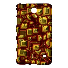 Metalart 23 Red Yellow Samsung Galaxy Tab 4 (8 ) Hardshell Case  by MoreColorsinLife
