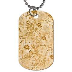 Flower Pattern In Soft  Colors Dog Tag (two Sides) by FantasyWorld7