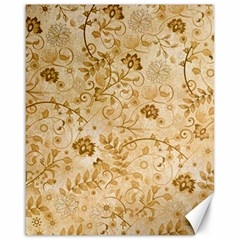Flower Pattern In Soft  Colors Canvas 16  X 20   by FantasyWorld7