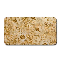 Flower Pattern In Soft  Colors Medium Bar Mats by FantasyWorld7