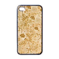 Flower Pattern In Soft  Colors Apple Iphone 4 Case (black) by FantasyWorld7