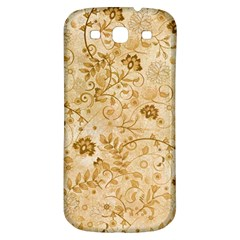 Flower Pattern In Soft  Colors Samsung Galaxy S3 S Iii Classic Hardshell Back Case by FantasyWorld7