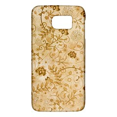 Flower Pattern In Soft  Colors Galaxy S6 by FantasyWorld7
