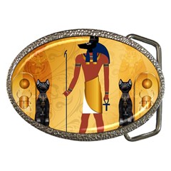 Anubis, Ancient Egyptian God Of The Dead Rituals  Belt Buckles by FantasyWorld7