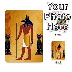 Anubis, Ancient Egyptian God Of The Dead Rituals  Multi Purpose Cards (rectangle)  by FantasyWorld7