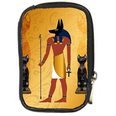 Anubis, Ancient Egyptian God Of The Dead Rituals  Compact Camera Cases