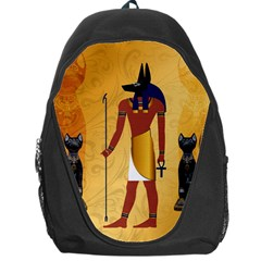 Anubis, Ancient Egyptian God Of The Dead Rituals  Backpack Bag by FantasyWorld7