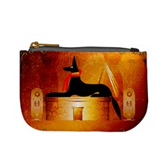 Anubis, Ancient Egyptian God Of The Dead Rituals  Mini Coin Purses by FantasyWorld7