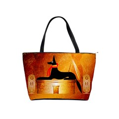 Anubis, Ancient Egyptian God Of The Dead Rituals  Shoulder Handbags