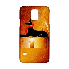 Anubis, Ancient Egyptian God Of The Dead Rituals  Samsung Galaxy S5 Hardshell Case  by FantasyWorld7