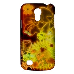Glowing Colorful Flowers Galaxy S4 Mini by FantasyWorld7