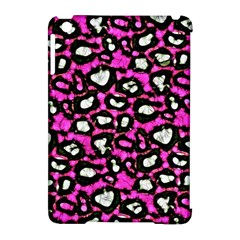 Pink Cheetah Print  Apple Ipad Mini Hardshell Case (compatible With Smart Cover) by OCDesignss