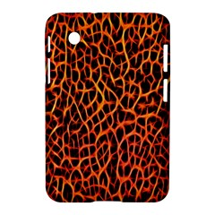 Lava Abstract Pattern  Samsung Galaxy Tab 2 (7 ) P3100 Hardshell Case  by OCDesignss