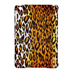 Brown Cheetah Abstract  Apple Ipad Mini Hardshell Case (compatible With Smart Cover) by OCDesignss