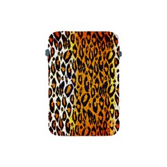 Brown Cheetah Abstract  Apple Ipad Mini Protective Soft Cases by OCDesignss