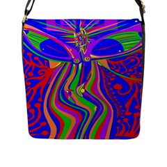 Transcendence Evolution Flap Messenger Bag (l)  by icarusismartdesigns