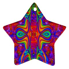 Abstract 1 Ornament (star)  by icarusismartdesigns