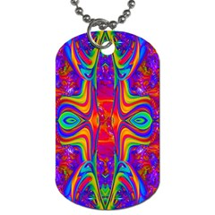 Abstract 1 Dog Tag (two Sides) by icarusismartdesigns