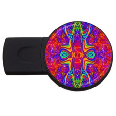 Abstract 1 Usb Flash Drive Round (2 Gb)  by icarusismartdesigns