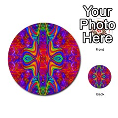 Abstract 1 Multi Purpose Cards (round)  by icarusismartdesigns
