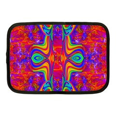 Abstract 1 Netbook Case (medium)  by icarusismartdesigns