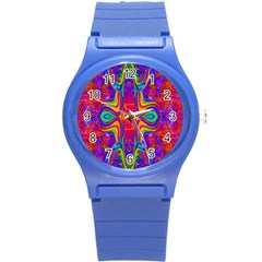 Abstract 1 Round Plastic Sport Watch (s) by icarusismartdesigns