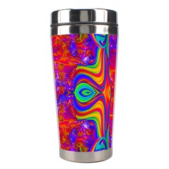 Abstract 1 Stainless Steel Travel Tumblers by icarusismartdesigns