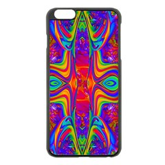 Abstract 1 Apple Iphone 6 Plus Black Enamel Case by icarusismartdesigns