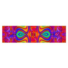 Abstract 1 Satin Scarf (oblong) by icarusismartdesigns