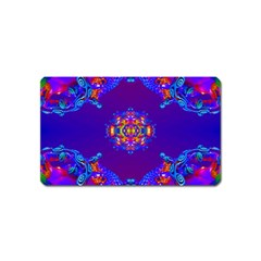 Abstract 2 Magnet (name Card) by icarusismartdesigns