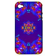 Abstract 2 Apple Iphone 4/4s Hardshell Case (pc+silicone) by icarusismartdesigns
