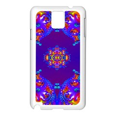 Abstract 2 Samsung Galaxy Note 3 N9005 Case (white) by icarusismartdesigns