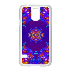 Abstract 2 Samsung Galaxy S5 Case (white) by icarusismartdesigns