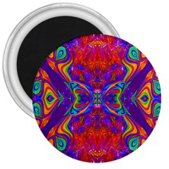 Butterfly Abstract 3  Magnet by icarusismartdesigns
