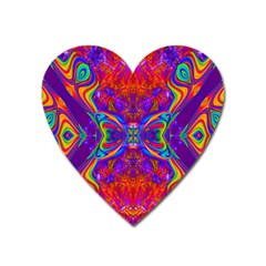 Butterfly Abstract Magnet (heart) by icarusismartdesigns