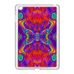 Butterfly Abstract Apple Ipad Mini Case (white) by icarusismartdesigns
