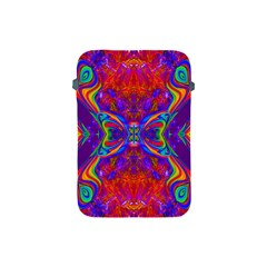 Butterfly Abstract Apple Ipad Mini Protective Soft Case by icarusismartdesigns