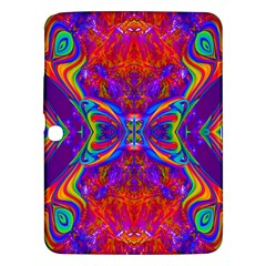 Butterfly Abstract Samsung Galaxy Tab 3 (10 1 ) P5200 Hardshell Case  by icarusismartdesigns