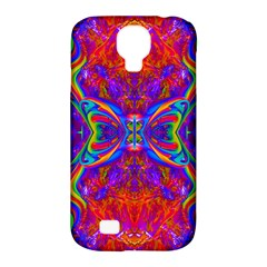 Butterfly Abstract Samsung Galaxy S4 Classic Hardshell Case (pc+silicone) by icarusismartdesigns