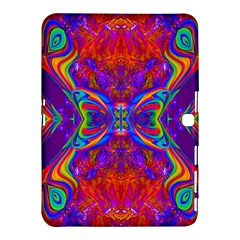 Butterfly Abstract Samsung Galaxy Tab 4 (10 1 ) Hardshell Case  by icarusismartdesigns