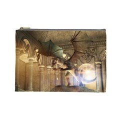 The Dragon Cosmetic Bag (large)  by FantasyWorld7