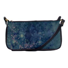 Vintage Floral In Blue Colors Shoulder Clutch Bags by FantasyWorld7
