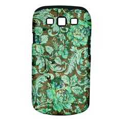 Beautiful Floral Pattern In Green Samsung Galaxy S Iii Classic Hardshell Case (pc+silicone) by FantasyWorld7