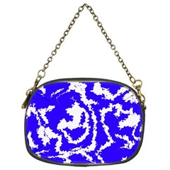 Migraine Blue Chain Purses (one Side)  by MoreColorsinLife