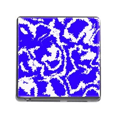 Migraine Blue Memory Card Reader (square) by MoreColorsinLife