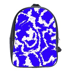 Migraine Blue School Bags (xl)  by MoreColorsinLife