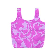 Migraine Pink Full Print Recycle Bags (s)  by MoreColorsinLife