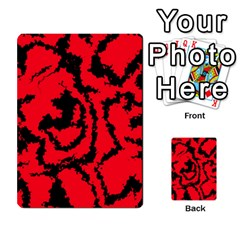 Migraine Red Multi Purpose Cards (rectangle)